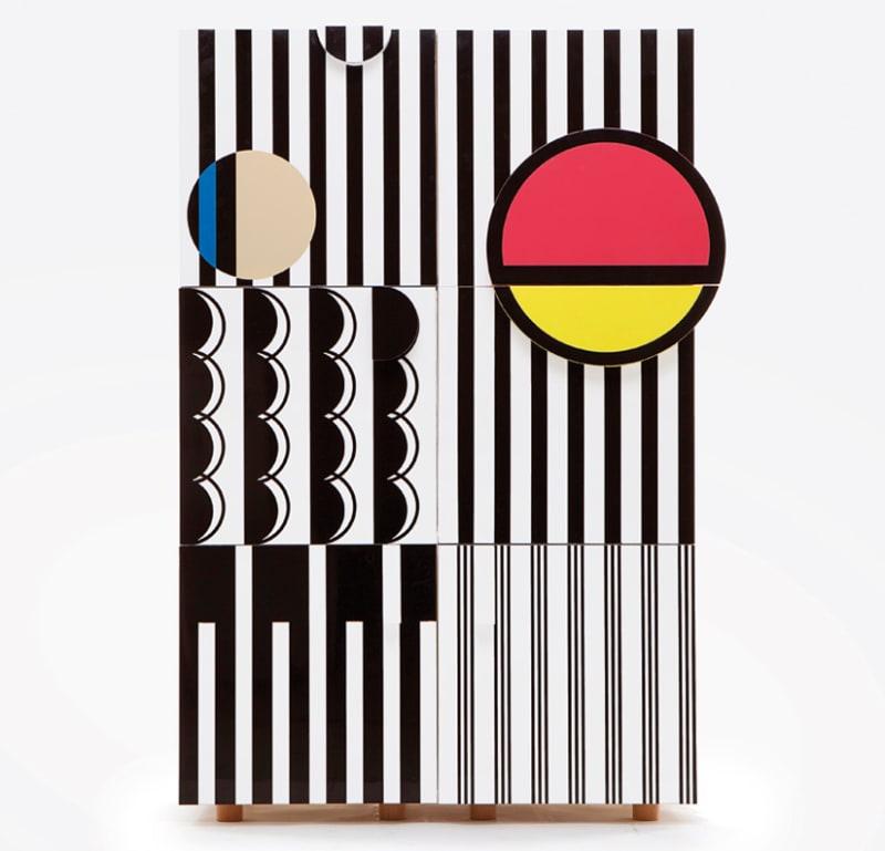 """Rosenholzschrank """"Spikenard Lockers"""" von Hyesoo You über The Sculpture House, 2495 Pfund."""
