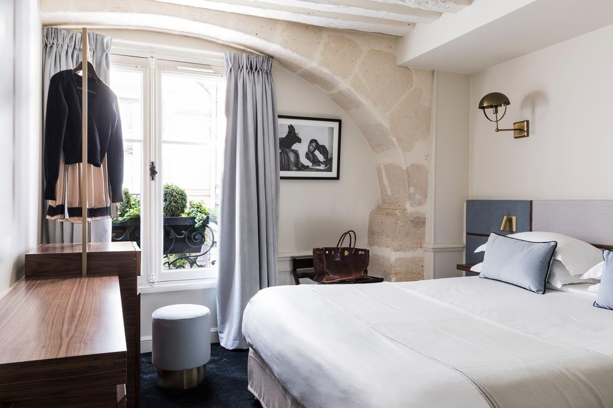 Hotel, Paris, Renovierung, Schlafzimmer