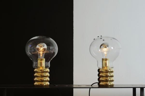 """Mit """"Bulb"""" setzte Ingo Maurer der Glühbirne ein Denkmal."""