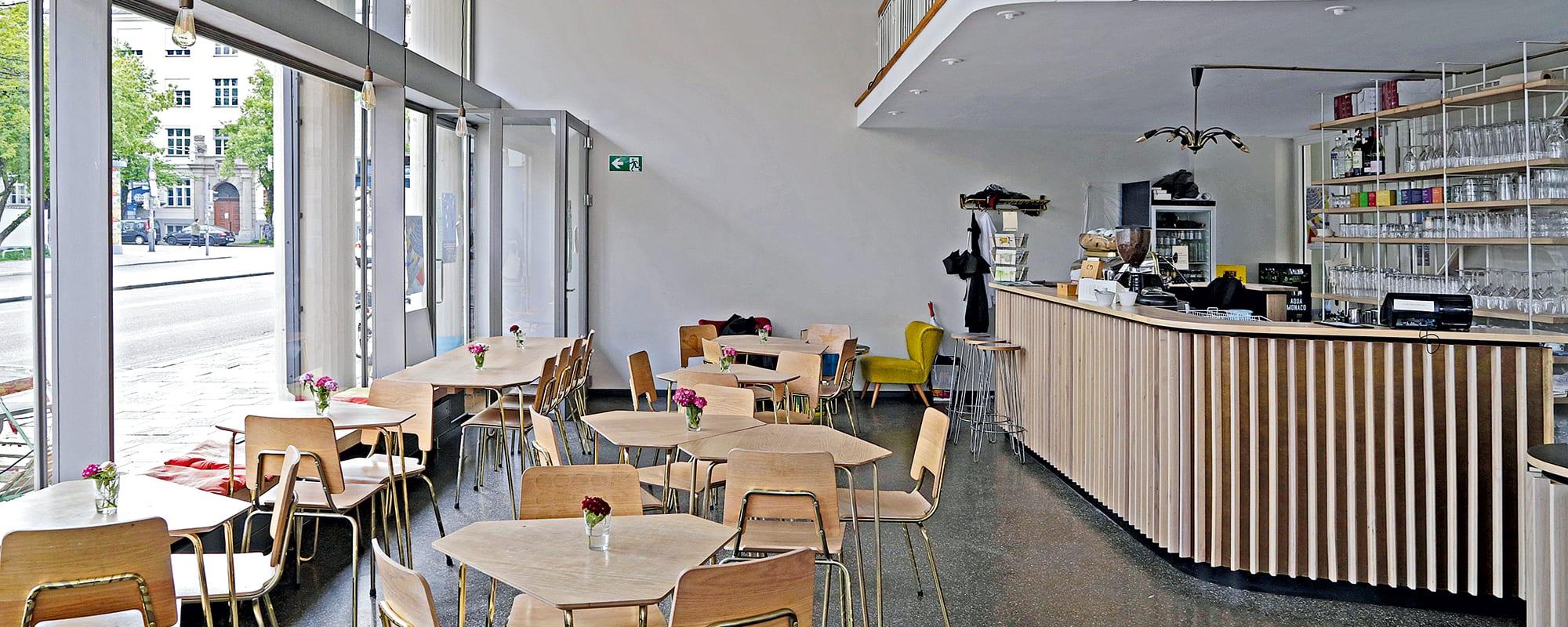 Bellevue di Monaco, München, Architecture