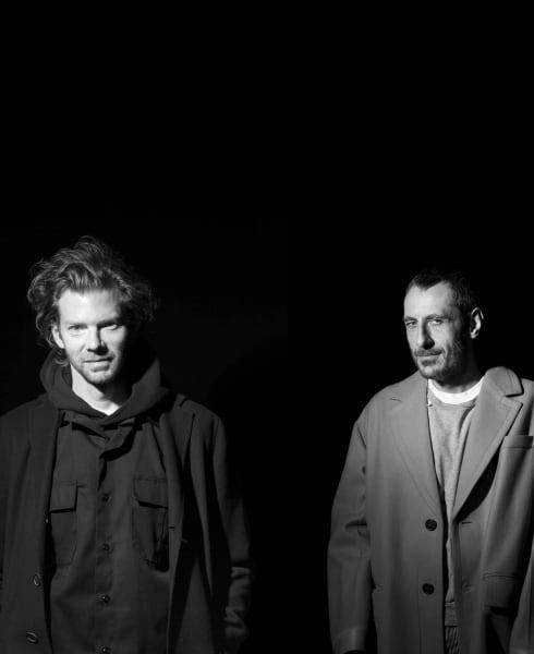 Das in Mailand seit 2003 ansässige Kreativduo besteht aus Britt Moran (links) und Emiliano Salci.