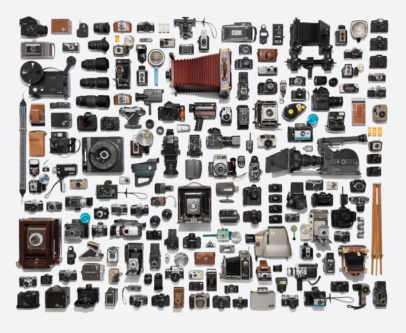 Kamera-Kollektion