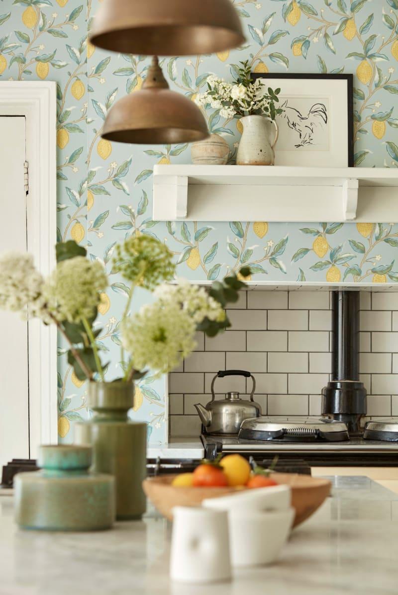 Küchen-Tapete von Morris & Co