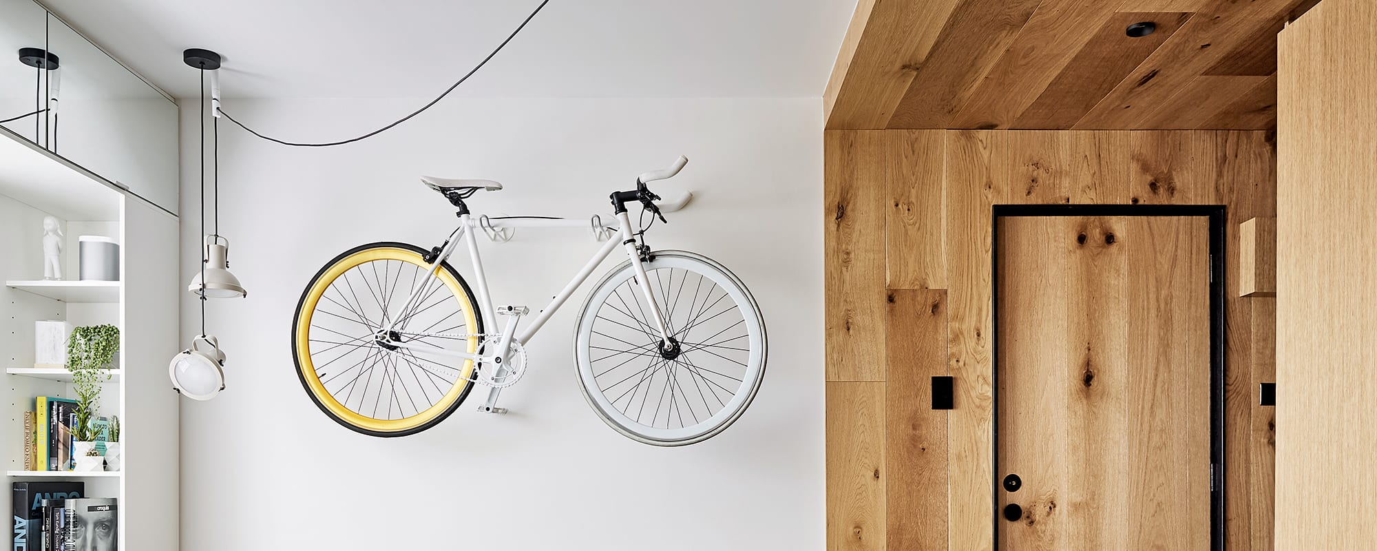 Tsai Design, Type Street Apartment, Entre, Eichenholz, Beistelltisch, Sofa