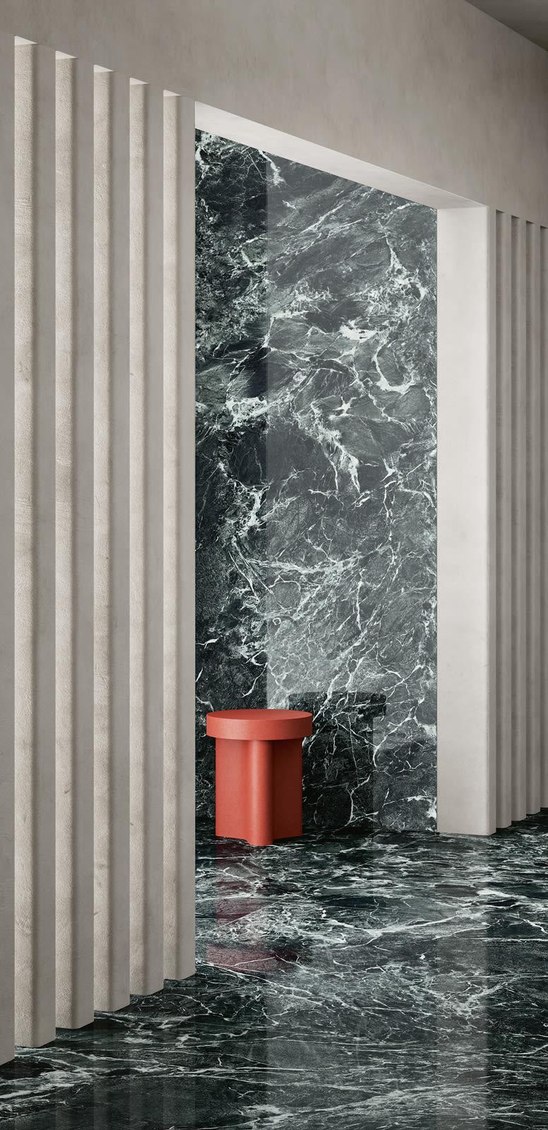 """Marmor-Lookalike: """"Alpi Chiaro Venato"""", Fiandre Architectural Surfaces"""