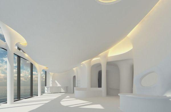 """""""Die Zukunft des Bauens"""" nennt der Architekt Laurent Brückner sein Werk."""