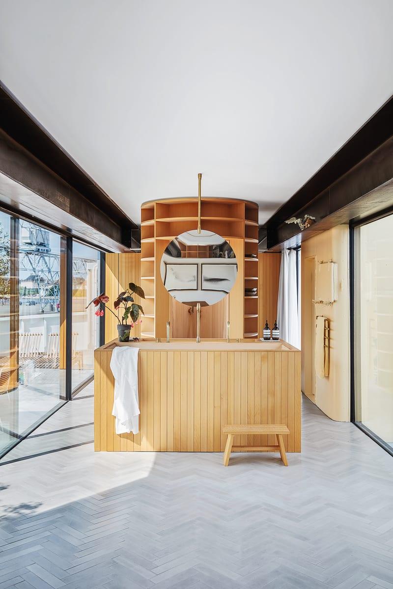 Badezimmer Bjarke Ingels Hausboot