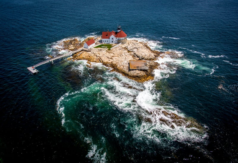 Cuckolds Lighthouse, Maine