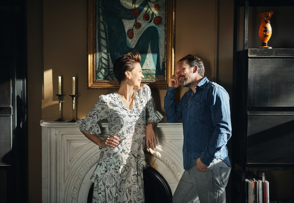 Ein richtiges Zuhause: So wohnen Maggie Gyllenhaal und Peter Sarsgaard in Brooklyn