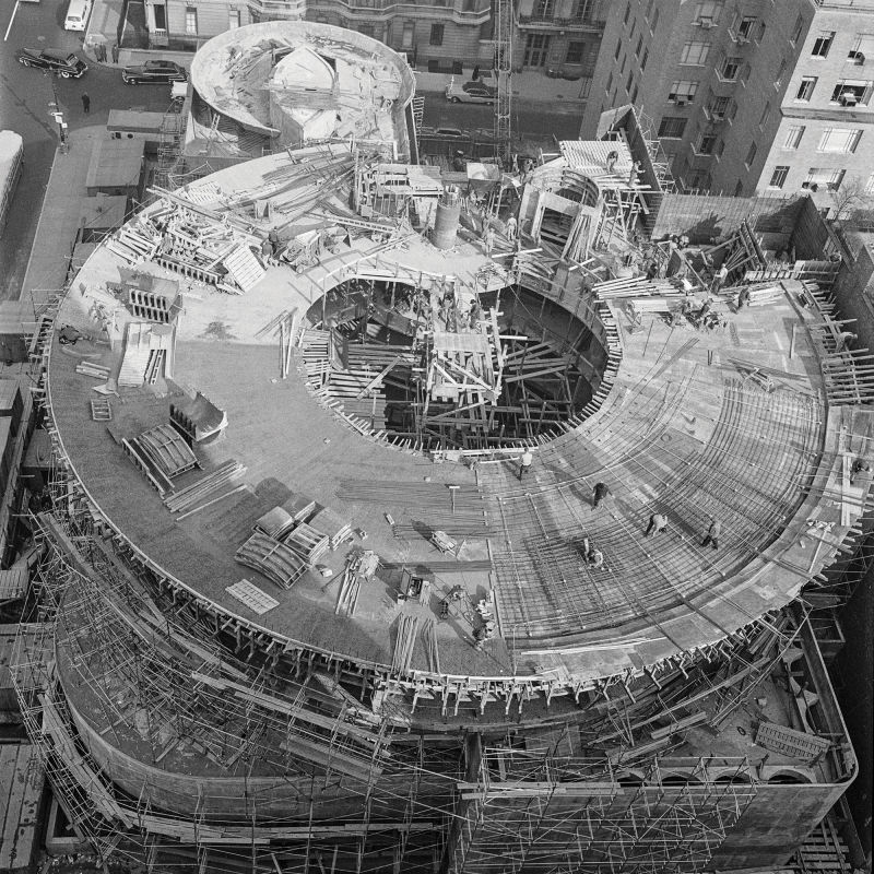 Guggenheim Museum Bau