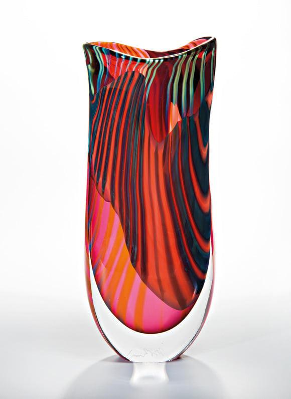 "Vase ""Pink Paradiso"" von London Glassblowing, 875 Euro."