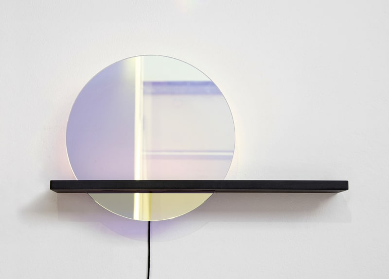 Studio WM: Lucent Mirror Shelf