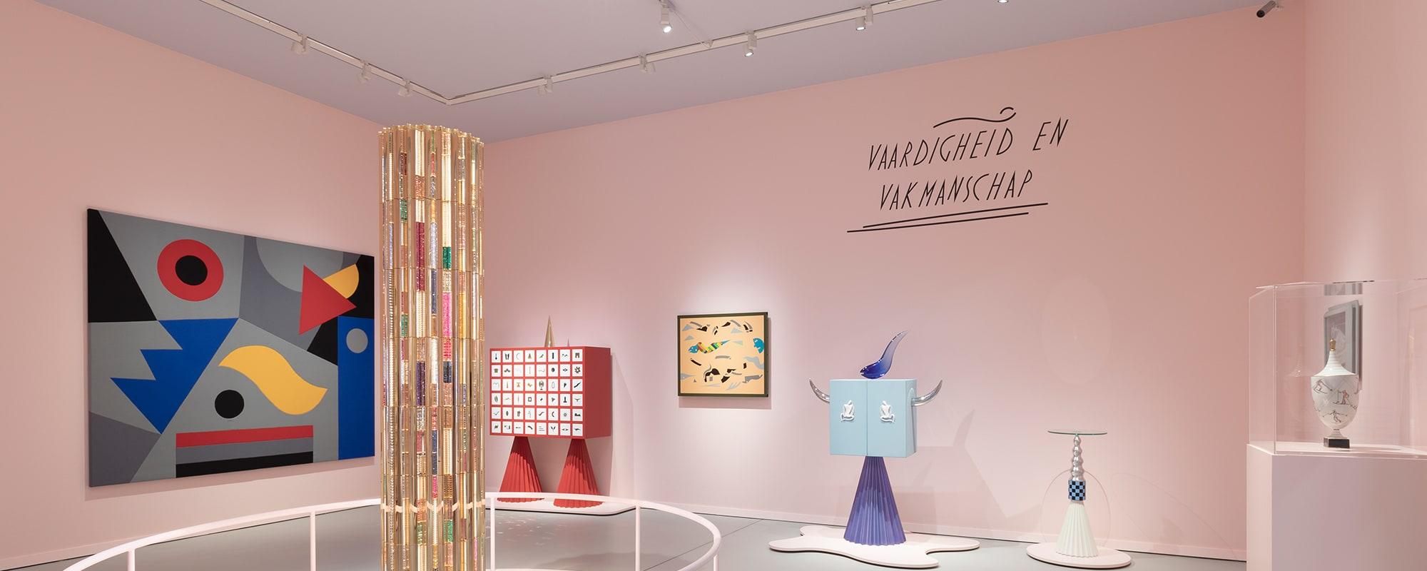 Alessandro Mendini, Groninger Museum, Mondo Mendini, Ausstellung
