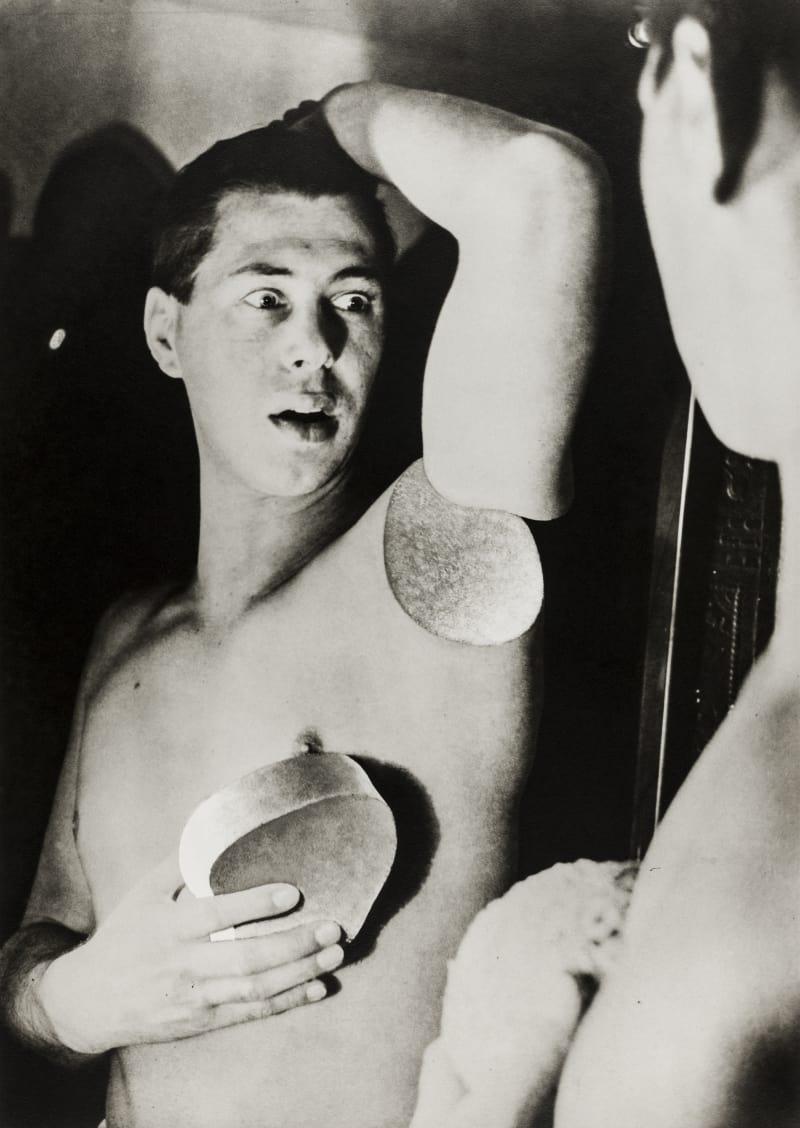 Herbert Bayer Selbstporträt,1932, Fotomontage