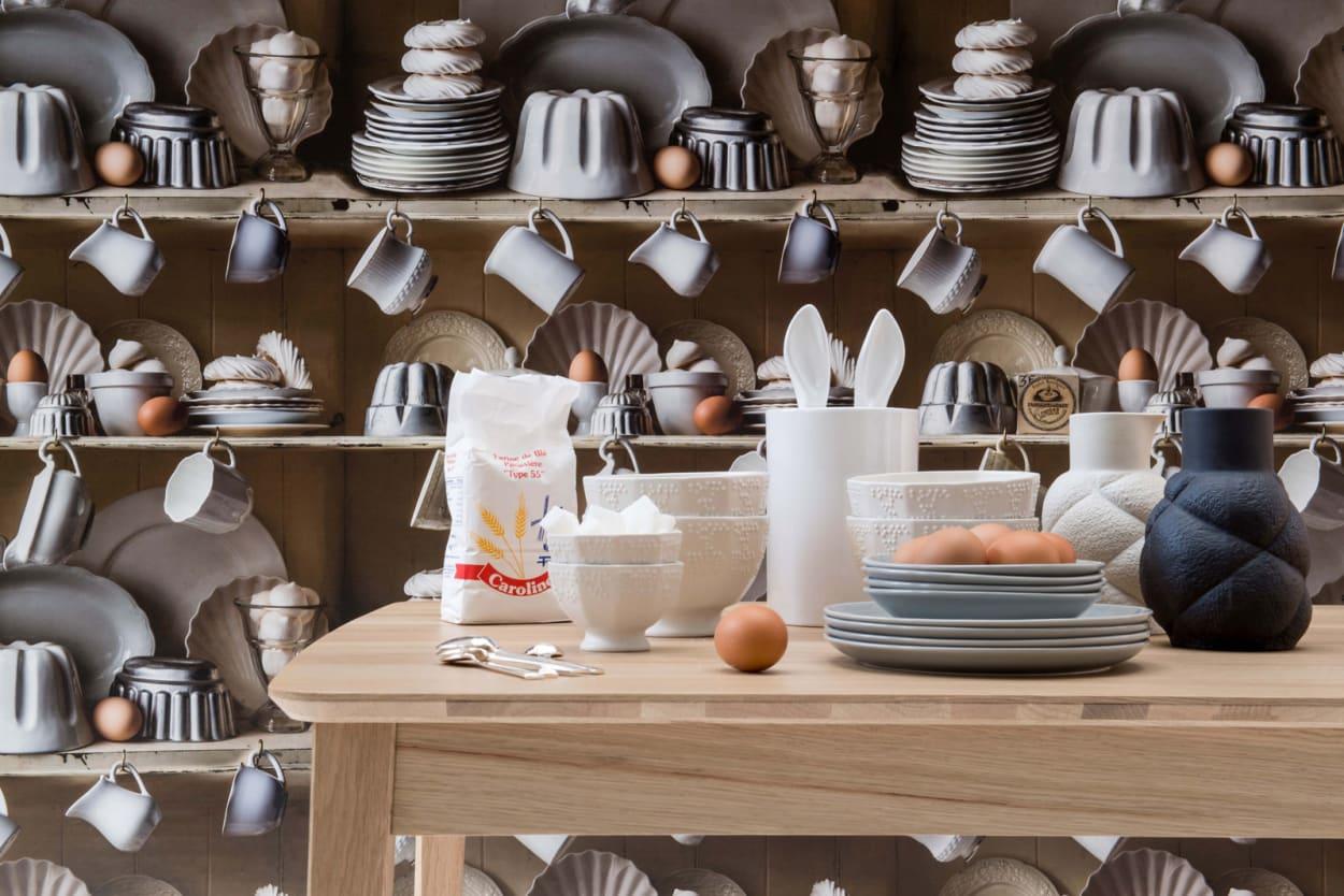 Küchen-Tapete von Pierre Frey