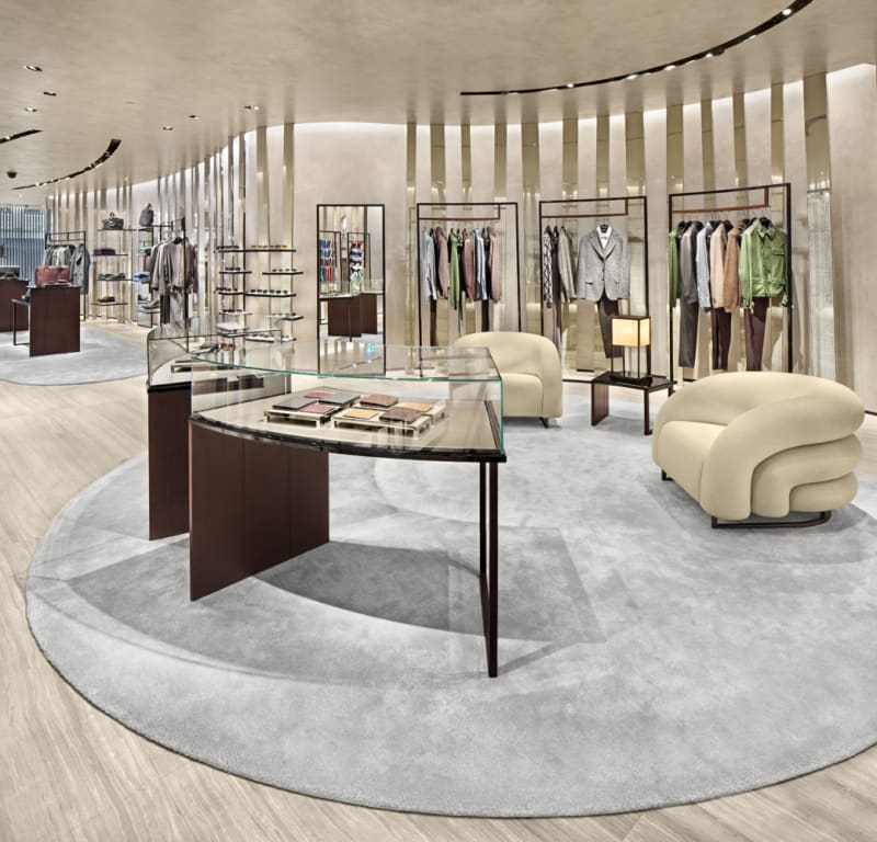 Menswear, Armani Store, Istanbul