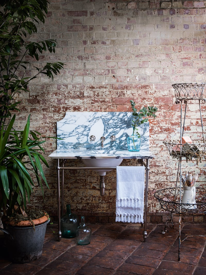 "11. Catchpole&Rye, ""The Pyrford Single Marble Washstand"""