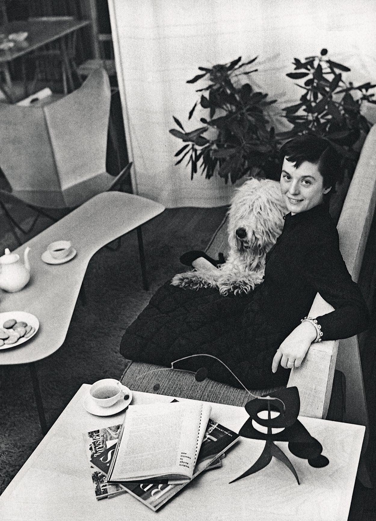 Florence Knoll, foto, schwarzweiß