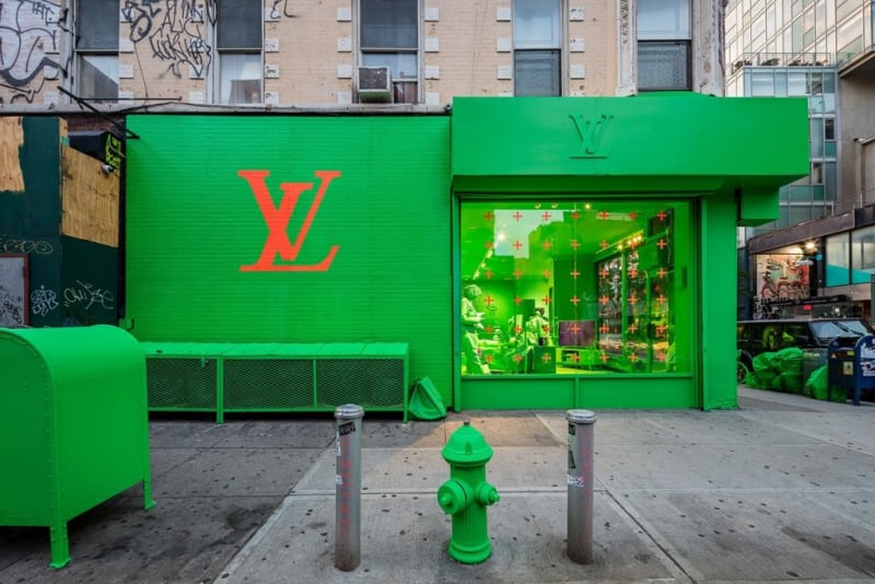 Pop Up Store Virgil Abloh