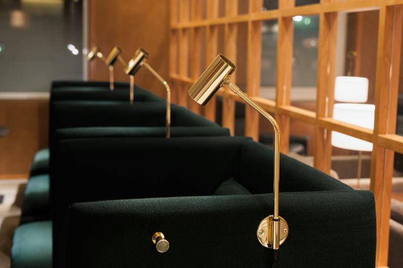Sessel für die Cathay Pacific Passagierlounge