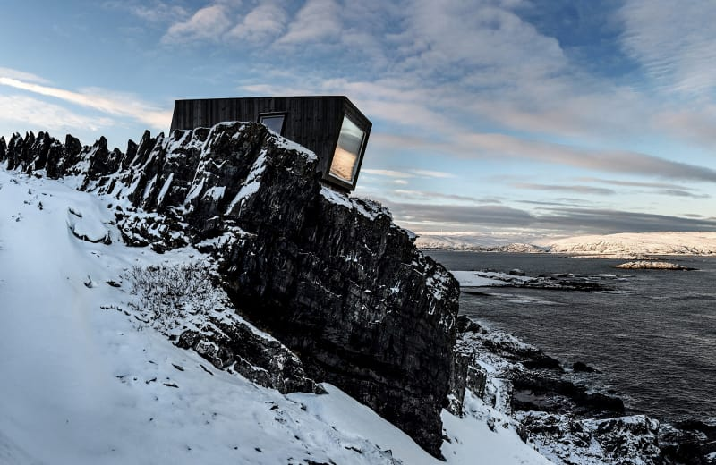 Kongsfjord wind shelter & bird hide
