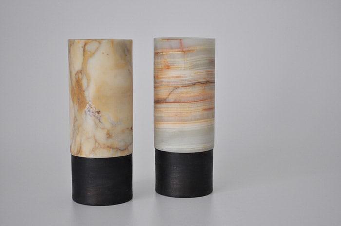 Vasen aus Onyx
