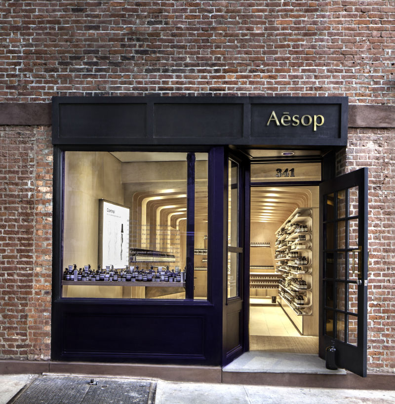 Aesop Store New York, Bleecker Street