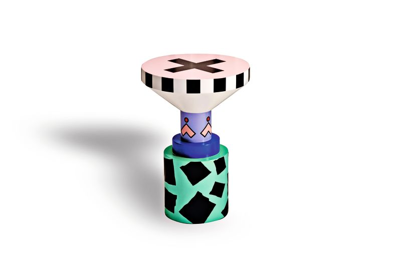 """1. """"Pattern Chess Piece Stool"""""""