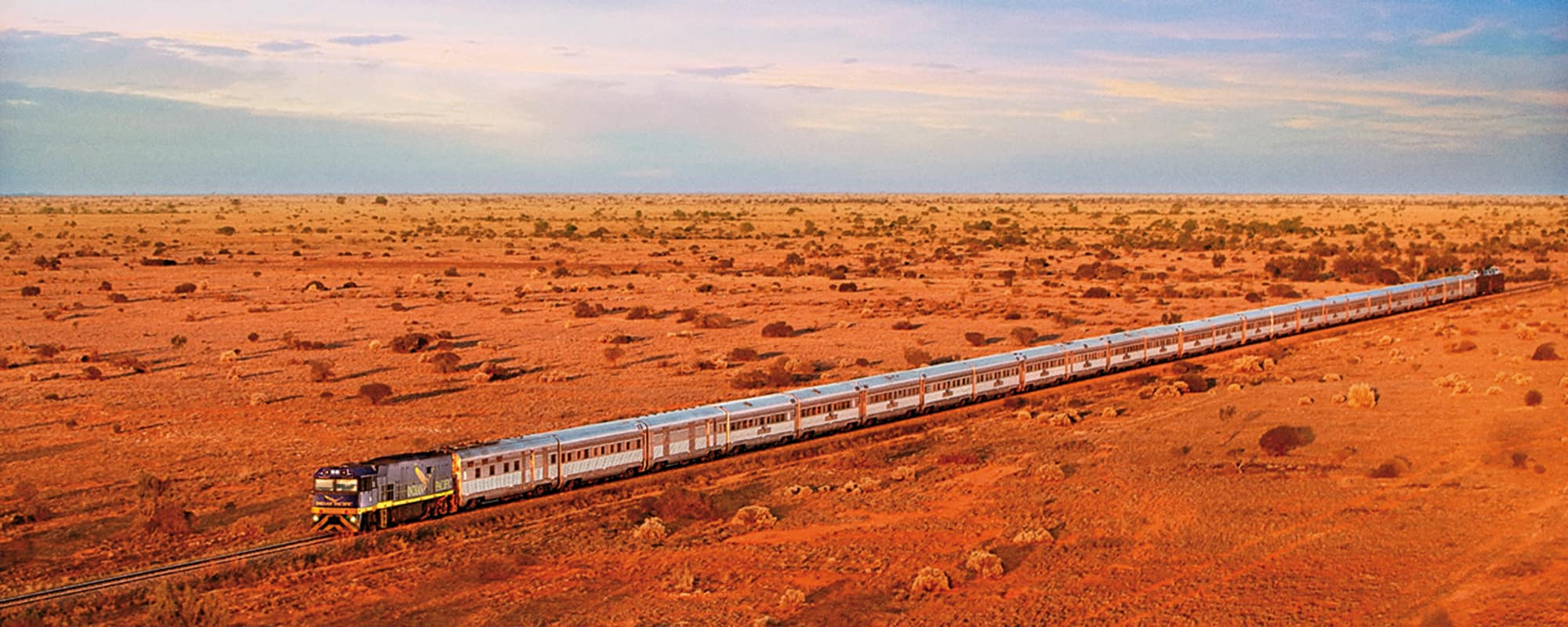 The Indian Pacific, Transaustralische Eisenbahn, Zug, Luxusreise, Perth, Sidney