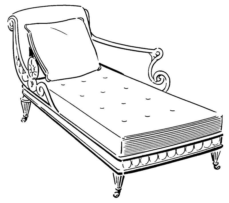 Recamiere Illustration