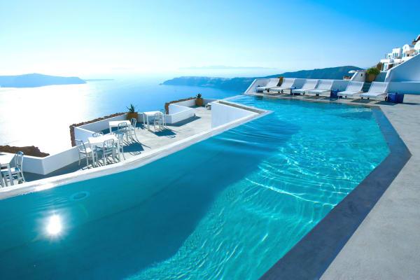 Das Grace Santorini Hotel in Griechenland.
