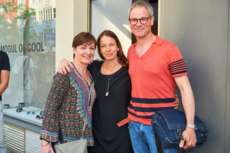 Petra Schönfeld, Birgit Lehner, Jan Reuter.