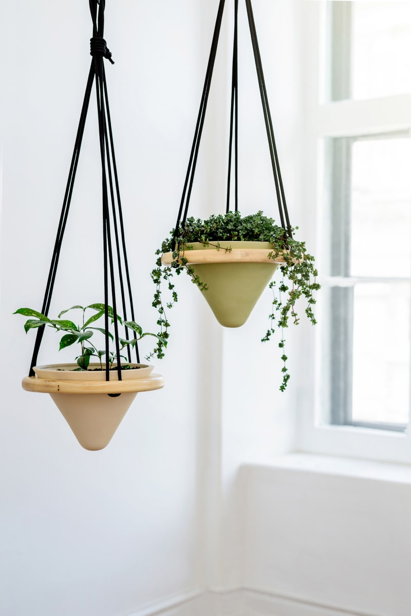 "2. Marie-Pier Guilmain & Maud Beauchamp, ""Valley Suspended Planters"""