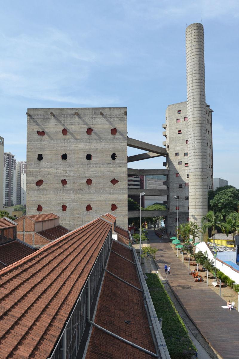 SESC – Fabrica da Pompeia, São Paulo, 1977-1986