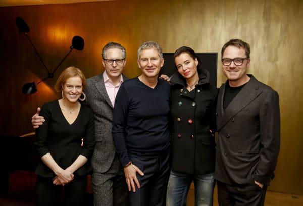 Franziska Michaelis, Robert Volhard, Marc Meire, Alice Trier und Oliver Jahn.
