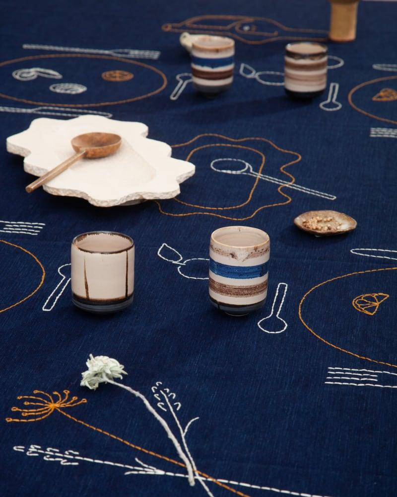 Tischdecke von Sarah Espeute für Sessùn