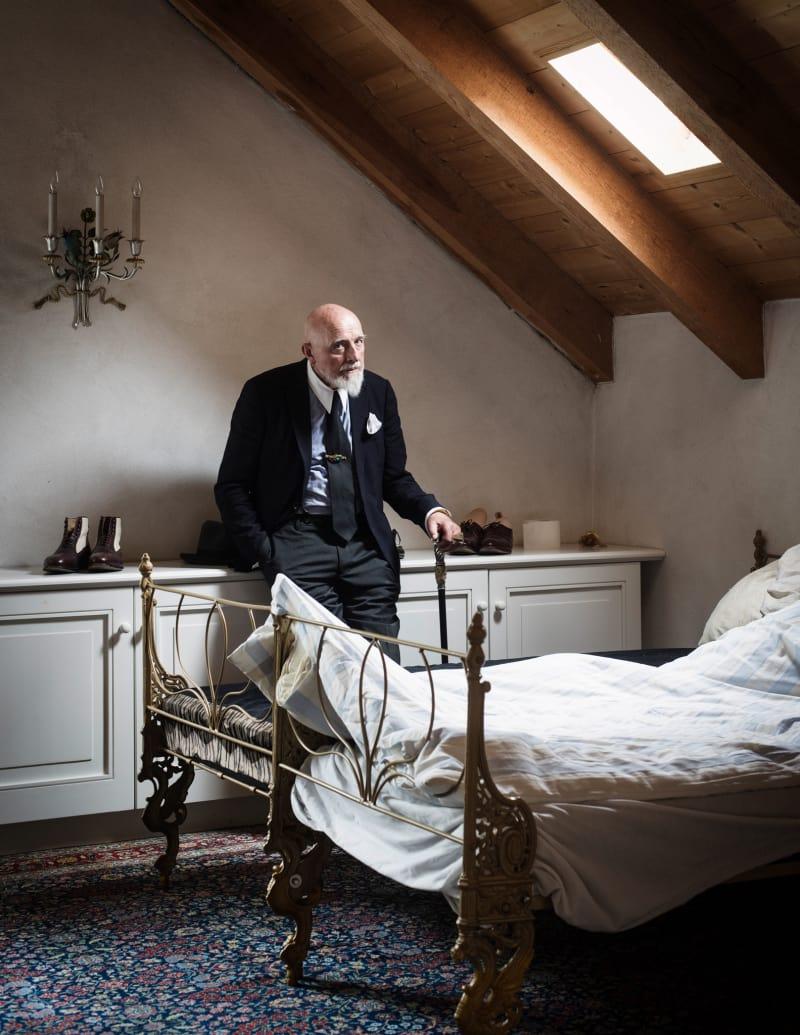 Wolfgang Stahr Porträt Markus Luepertz