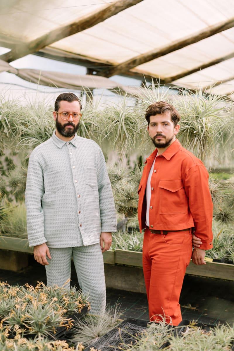 Pancho Doren und Jesús Monteagudo