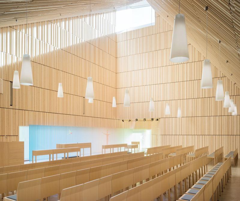 Suvela Chapel Helsinki