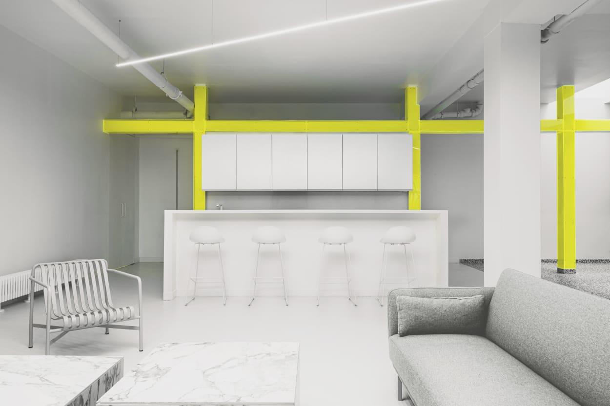 Ubalt Architects, Küche, Wohnzimmer, Interiordesign