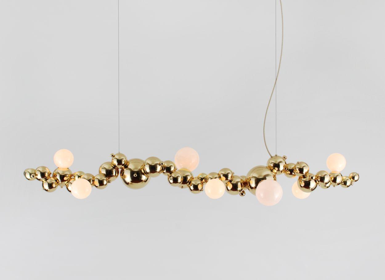 Rosie Li, Bubbly, chandelier