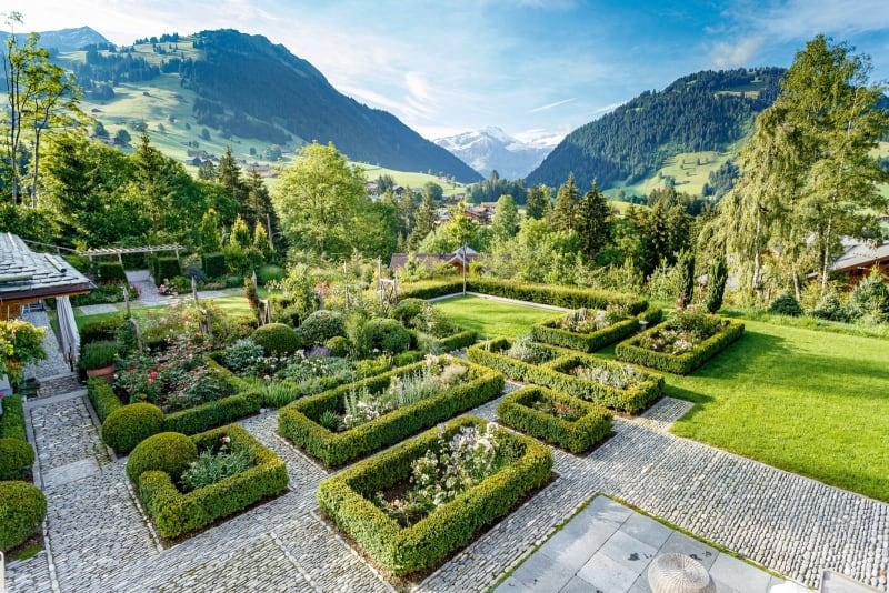 Louis Benech Gstaad Garten