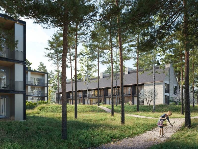 Zeitgenössische Baukultur im Grünen