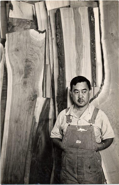 portrait George Nakashima