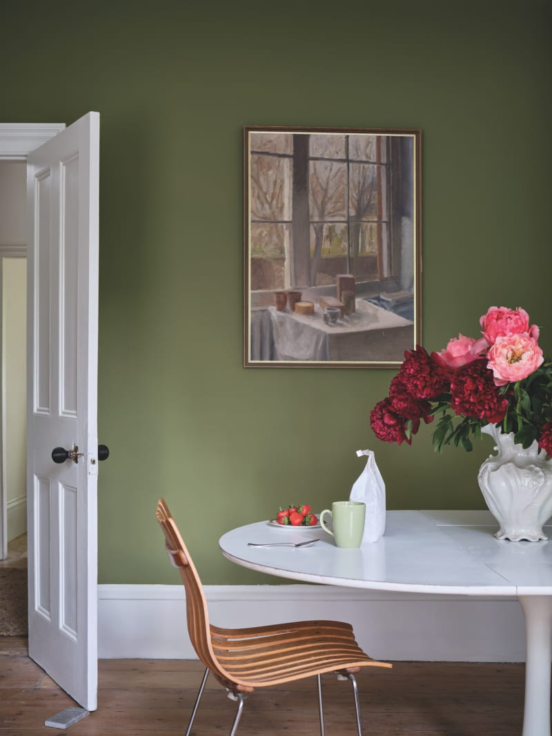 "Farrow & Ball ""Colour by Nature: Sap Green"""