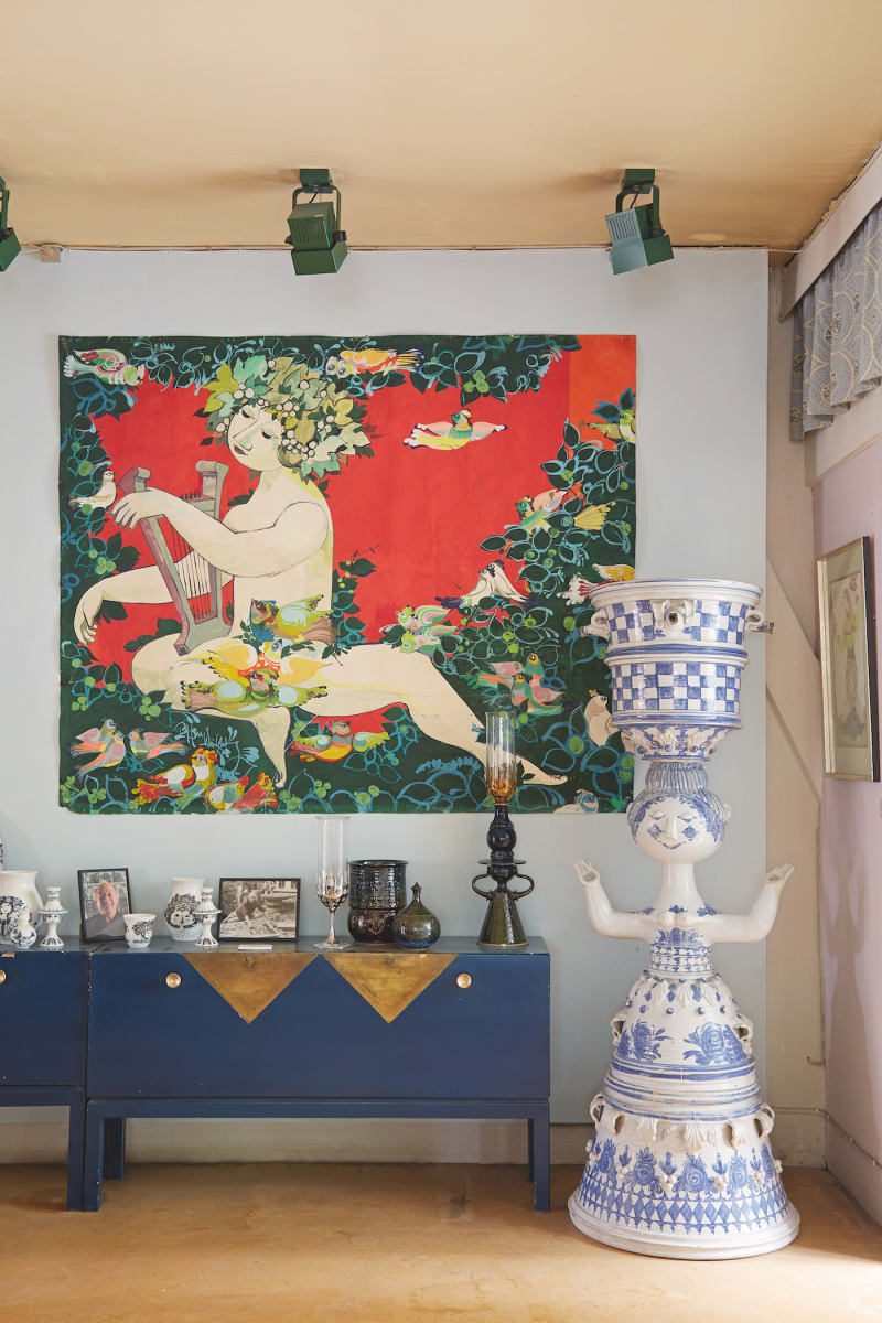 Bjørn Wiinblads Blaues Haus