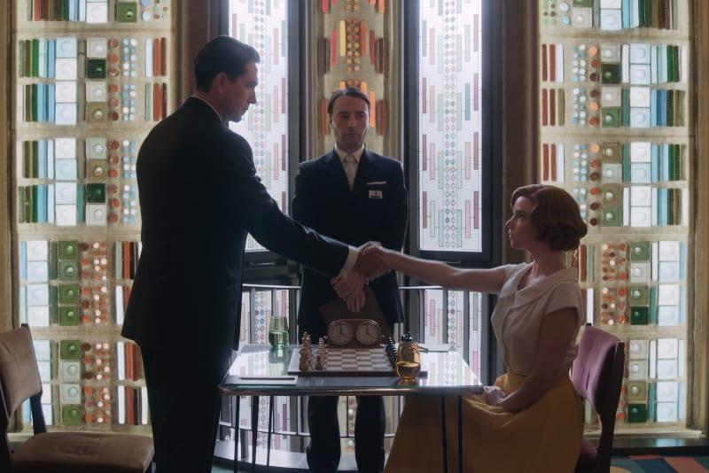 Netflix-Serie The Queen's Gambit Netflix Wallpaper