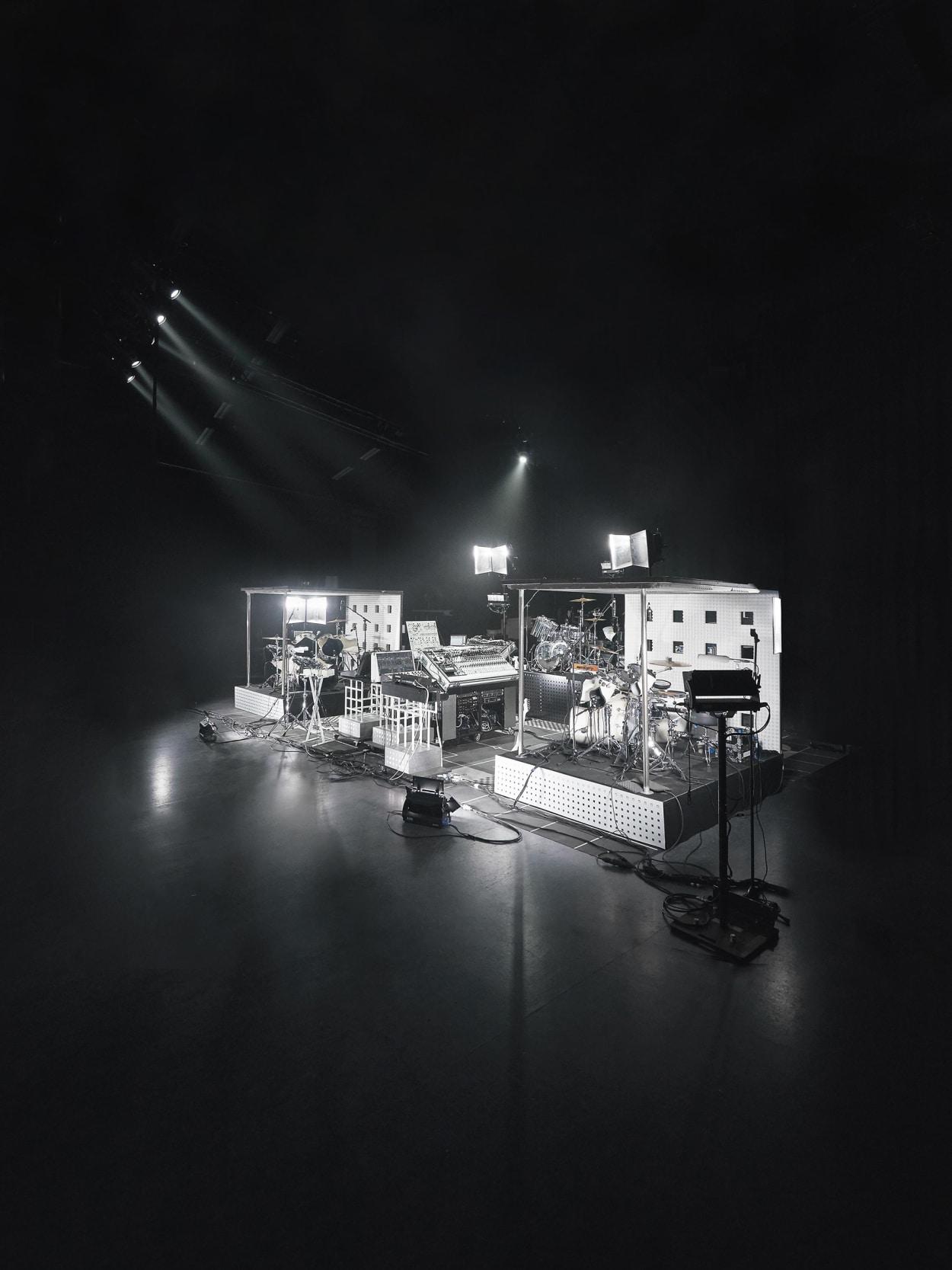 Musik, Set, Licht, Installation, Technik