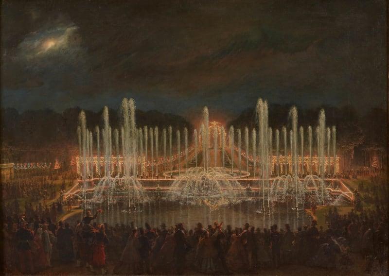 Party im Park von Versailles