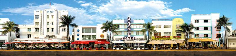 """""""Miami Beach, Ocean Drive #2"""""""